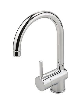 eisl-top-fix-single-lever-kitchen-mixer-tap-with-swan-neck-swivel-spout