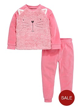 mini-v-by-very-girls-animal-fauxnbspfur-pyjamas-set