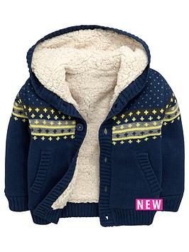 mini-v-by-very-boys-borg-hooded-cardigan