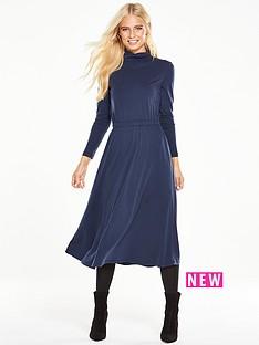 v-by-very-roll-neck-midi-dress