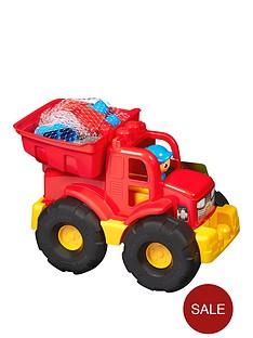mega-bloks-transforming-dump-truck
