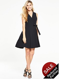 v-by-very-wrap-fit-and-flare-dress