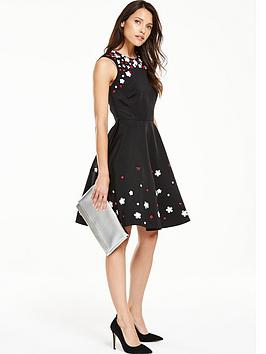 v-by-very-flower-embellished-prom-dress