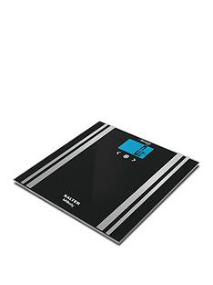 Salter Black MiBody Analyser Bathroom Scale