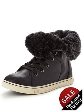 ugg-croft-quilted-fur-trainernbsp