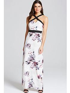 little-mistress-cross-strap-maxi-dressnbsp
