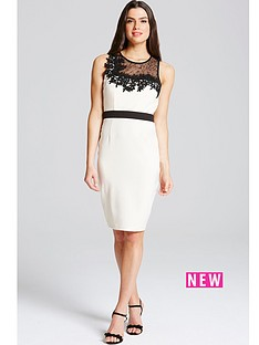 little-mistress-lace-and-crochet-bodycon-dressnbsp