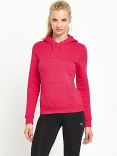 puma-essentials-hoodie-pink