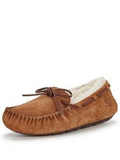 ugg-australia-dakota-bow-slipper--nbspchestnut