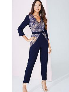 little-mistress-lace-pane-jumpsuitnbsp