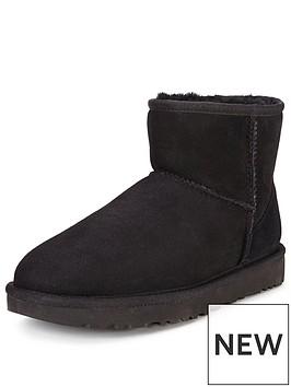 ugg-classic-ii-mini-boot-blackstormy-greynbsp