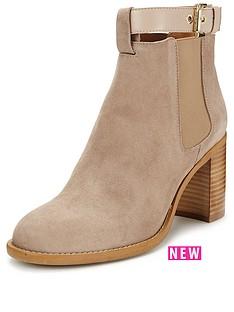 kg-sebastiennbspbuckle-leather-ankle-boot
