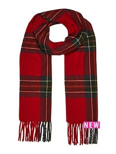 river-island-mens-red-tartan-scarf