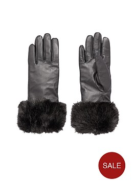 v-by-very-faux-fur-trim-leather-gloves