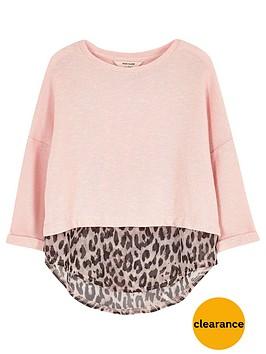 river-island-mini-mini-girls-pink-leopard-print-hybrid-top