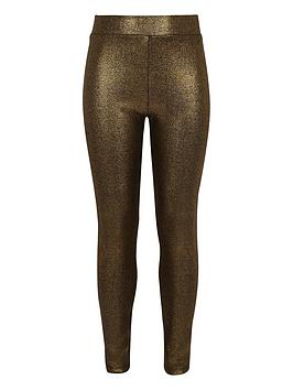river-island-girls-gold-foil-print-leggings