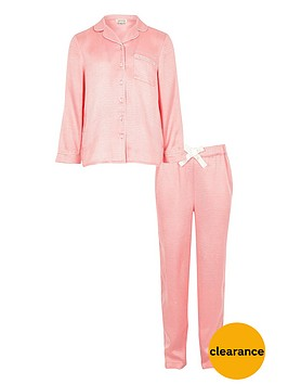 river-island-girls-pink-jacquard-pyjama-set