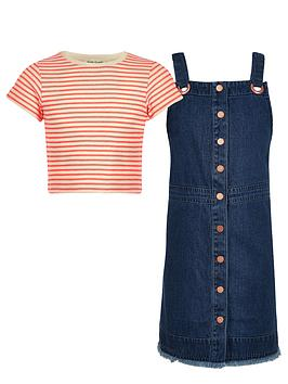 river-island-girls-stripe-top-and-denim-pinafore-outfit