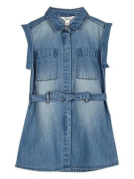 river-island-mini-girls-belted-blue-wash-denim-dress