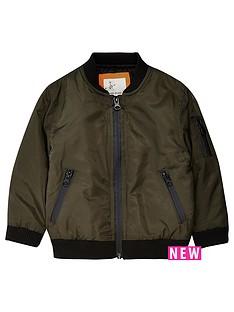 river-island-mini-mini-boys-khaki-bomber-jacket