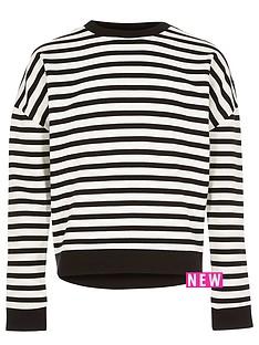 river-island-girls-stripe-slouchy-top