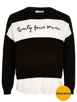 river-island-girls-word-panel-jumper