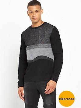 antony-morato-ls-tonal-jumper
