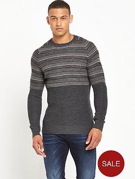 antony-morato-raglan-stripe-jumper