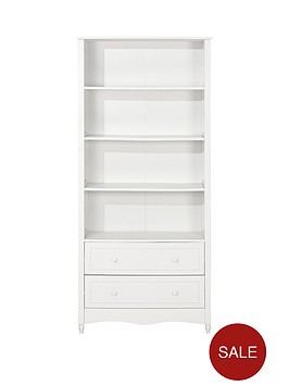 kidspace-holly-bookcase-with-2-drawers