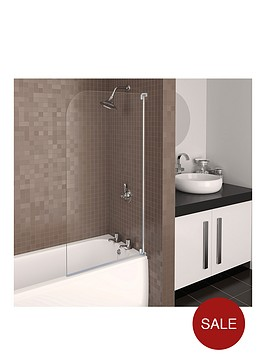 aqualux-aqua-3-half-frame-radius-bath-screen-white-hinge