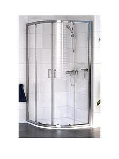 aqualux-shine-quadrant-curved-shower-enclosure-and-aqua-25-sphere-shower-tray