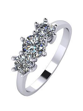moissanite-platinum-1-carat-trilogy-ring