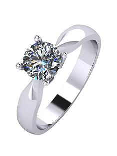 moissanite-platinum-75-point-solitaire-ring