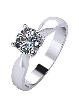 moissanite-platinum-75-point-solitaire-ring