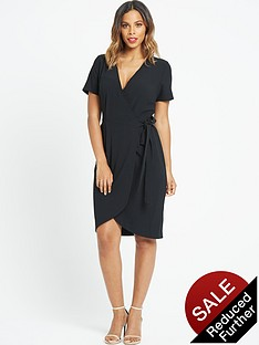 rochelle-humes-wrap-front-dressnbsp