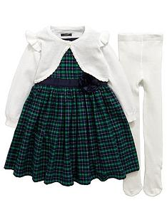 mini-v-by-very-girls-tartan-dress-cardigan-and-tights-set