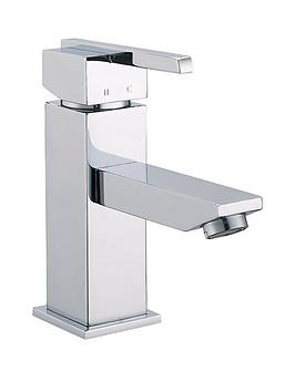 schutte-frog-basin-mixer-square-tap-with-lever-handle