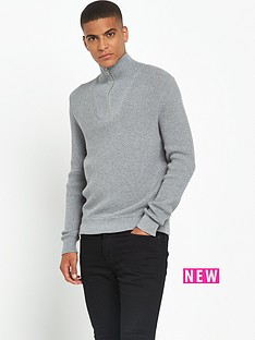 boss-orange-quarter-zip-knit
