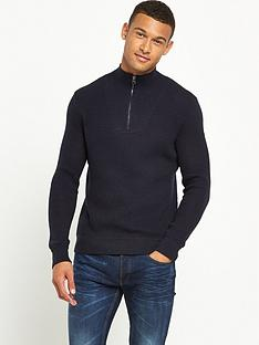 boss-orange-quarter-zip-knit