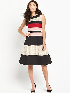 phase-eight-rosina-stripe-flare-dress