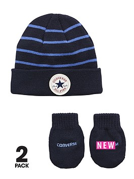 converse-baby-boys-stripe-hatmitts-set