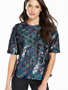 v-by-very-boxy-sequin-top