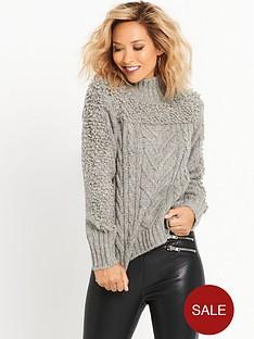 myleene-klass-cable-knit-jumper-grey