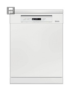 Miele G6620SC Full Size 14-Place Dishwasher with QuickPowerWash - White Best Price, Cheapest Prices