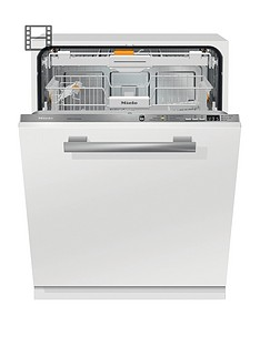 Miele G6660SCVi Integrated Full Size 14-Place Dishwasher with QuickPowerWash - White