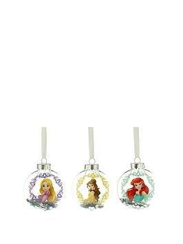 disney-princess-christmas-tree-bauble-decorations-set-of-3