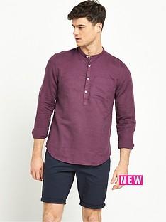 river-island-long-sleeve-grandad-shirt