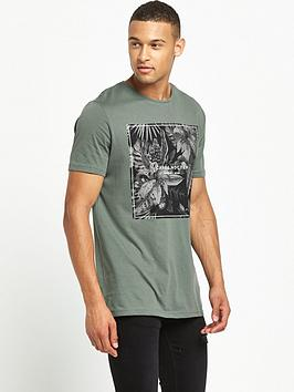 river-island-leaf-print-short-sleeve-t-shirt
