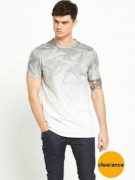 river-island-longline-faded-camo-short-sleeve-t-shirt