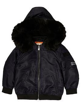 river-island-mini-boys-navy-hooded-bomber-jacket